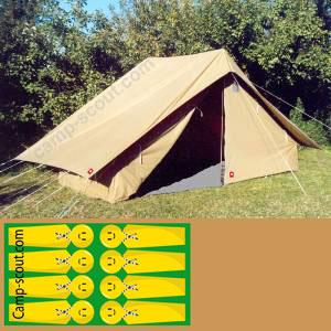 Equipement Boutique Matériel Camping Scoute Jamboree Tente Ft7wEqx